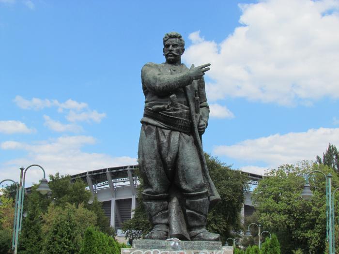 Monument Of Goce Delcev Skopje