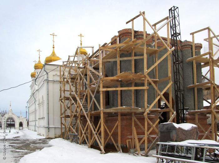 На северной стороне города егорьевска около деревянной церкви во имя великомученика никиты