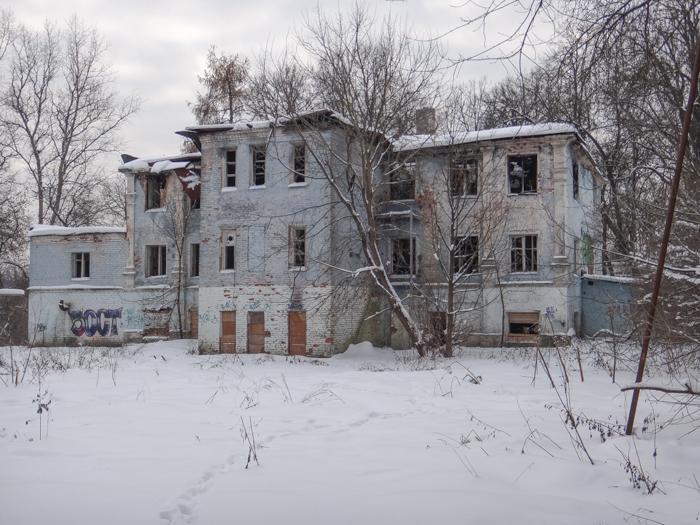 Небольшая подборка фотографий заброшенных зданий