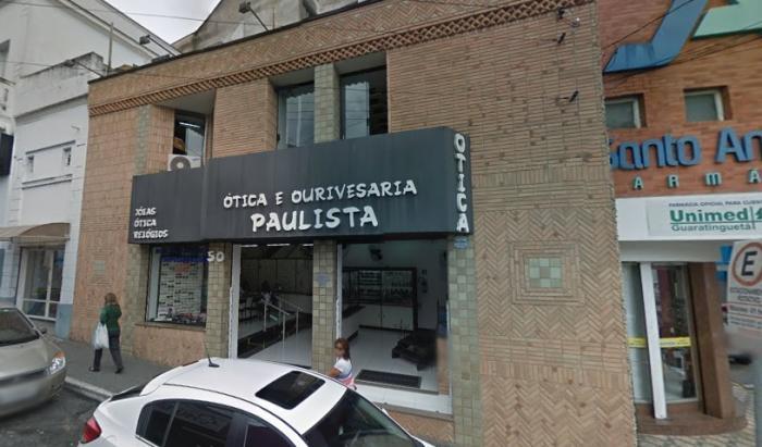 Ótica e Ourivesaria Paulista - Guaratinguetá 10b7e8c97c