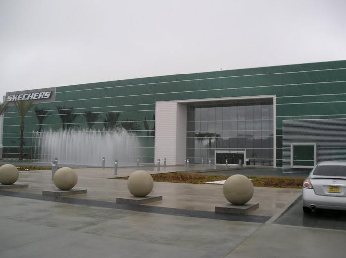 Sketchers Warehouse Moreno Valley California Distribution Center