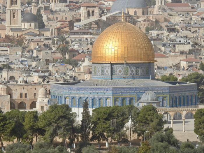 مسجد صخره (قبه الصخره)ء - اورشلیم