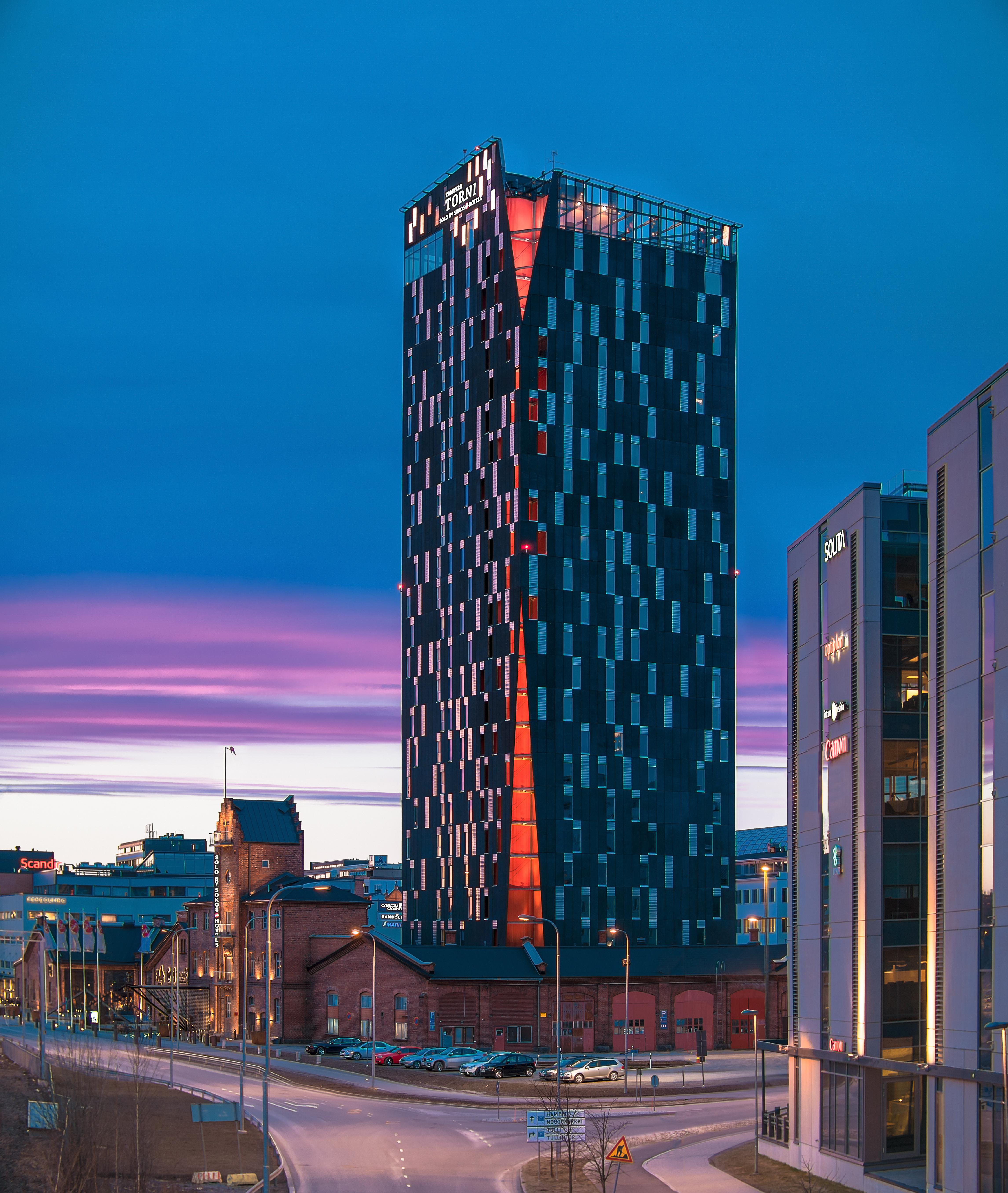 Tampere hotelli torni