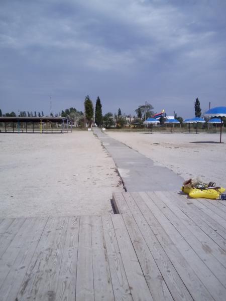 Фото пляжа скадовска 2018