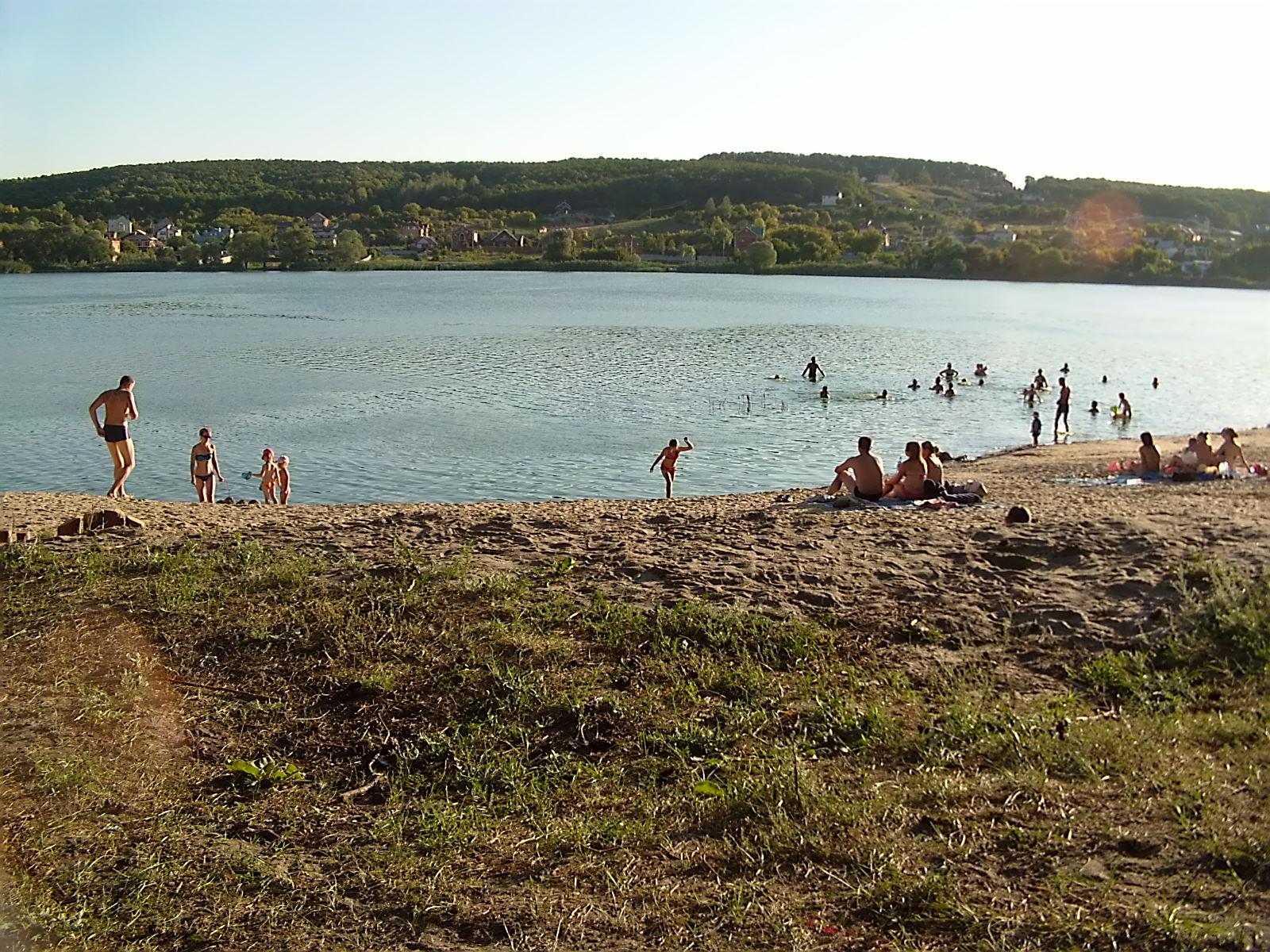 Левобережный пляж белгорода фото