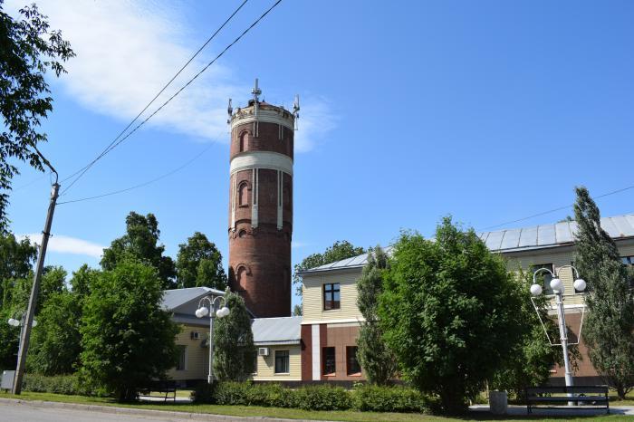 Заводоуковск водонапорная башня улица эта