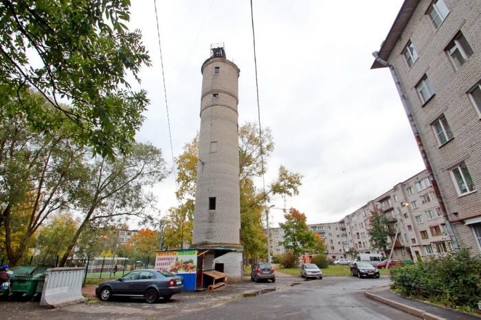 Водонапорная башня в слюдянке википедия Вам