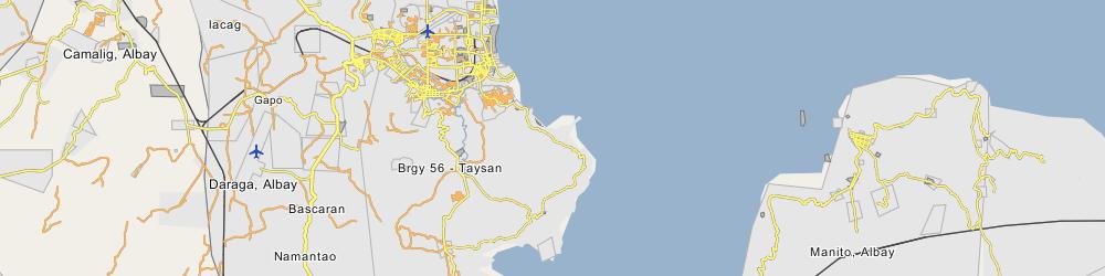 Map Of Legazpi Albay Images - Legazpi city map