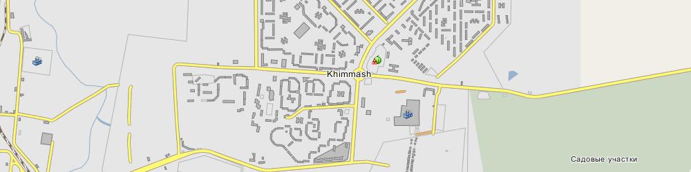 карта саранска химмаш