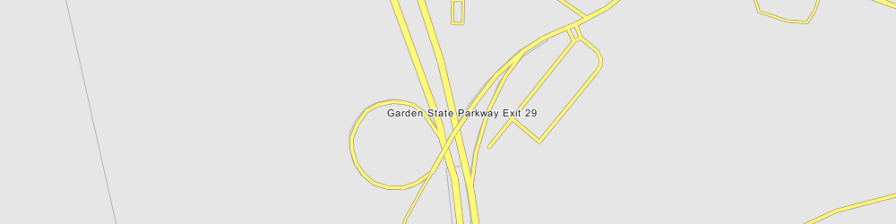 Garden State Parkway Exit 29 Somers Point New Jersey