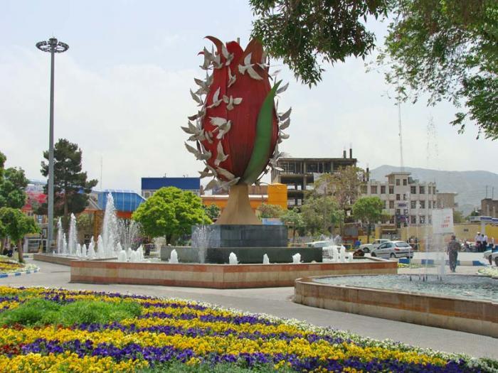 فرودگاه ایلام باغ ملی - اراک