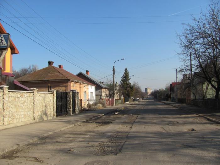 Фото улицы ивано франковск