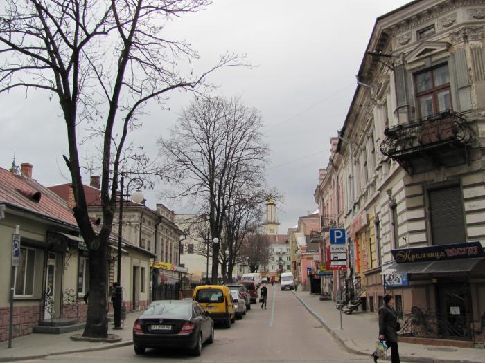 Билборд в г ивано-франковск, надричная ул, за ж/д переездом, от переезда