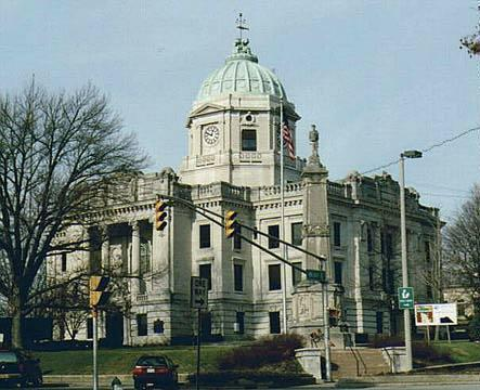 Monroe County Courthouse - Bloomington, Indiana