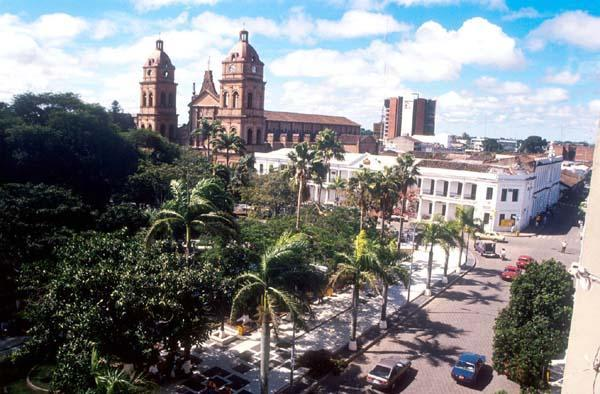 Plaza 24 De Septiembre Santa Cruz De La Sierra