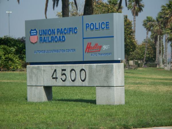 Union Pacific Railroad Automobile Distribution Center