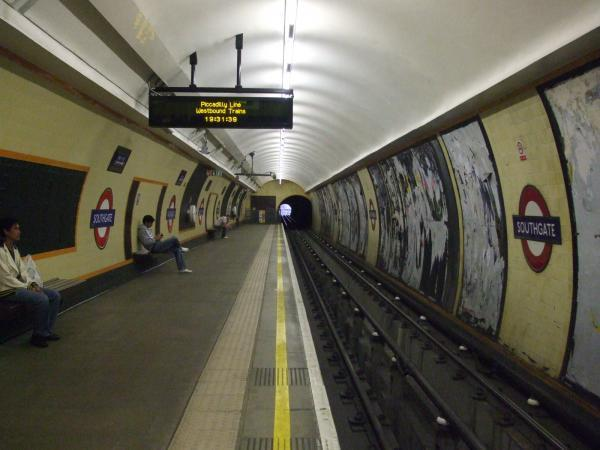 Southgate Underground Station London
