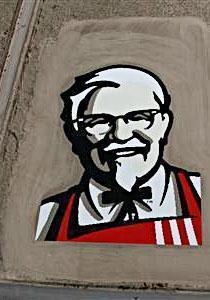 KFC logo (site) Kfc On Google Maps on google starbucks, google nike, google target, google disney, google bank of america,