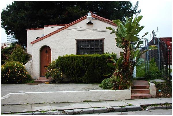 Steve Martin's house in Bowfinger - Los Angeles, California