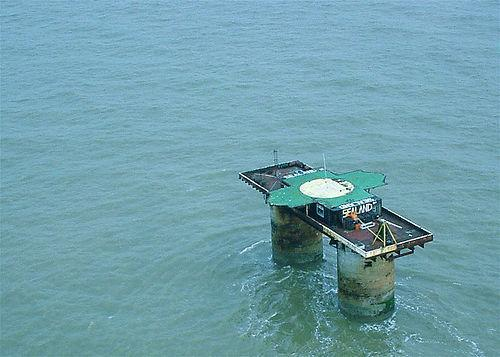 Photographie de l'île Sealand