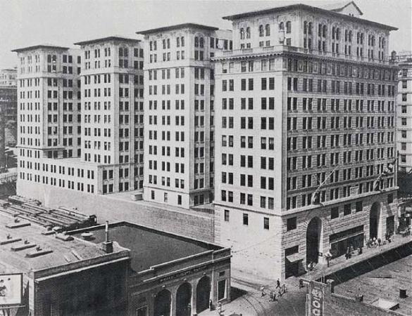 Subway Terminal Building Metro 417 1925