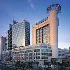 Abu Dhabi Mall And Rotana Beach Hotel Complex