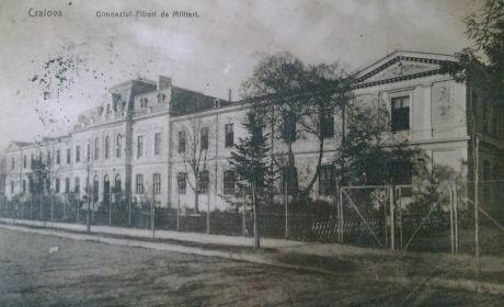 Ansamblul de cladiri al fostului Liceu Militar D. A. Sturdza - in prezent Grupul Scolar CFR - Craiova