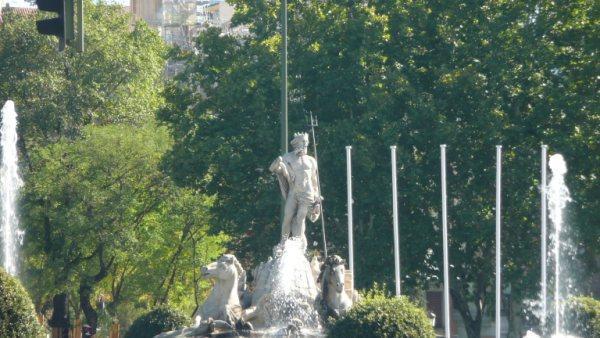 Neptune Fountain Madrid