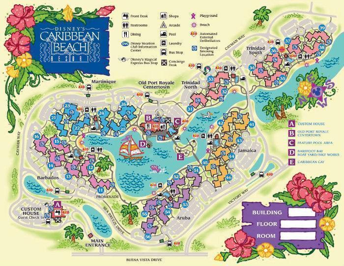 ce131648a Disney s Caribbean Beach Resort