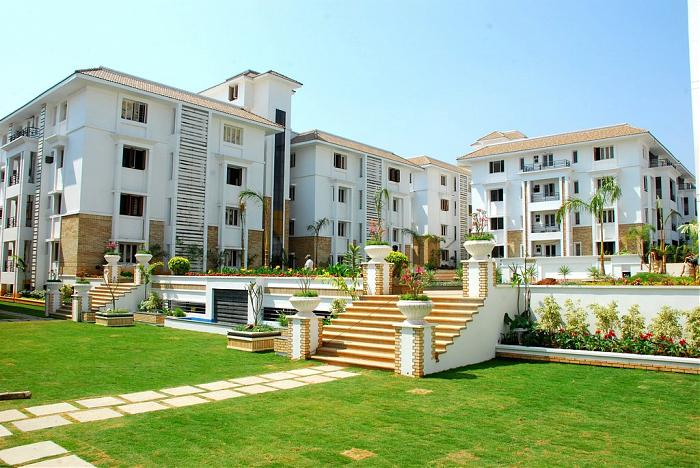 Fortune Enclave luxury flats gated community - Hyderabad