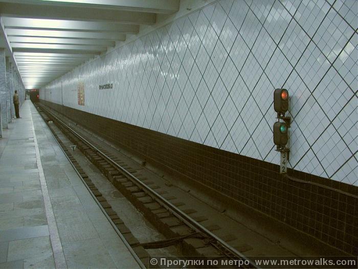 Выезд метро профсоюзная