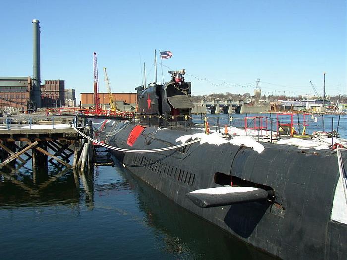 Ex - Soviet Submarine K-77
