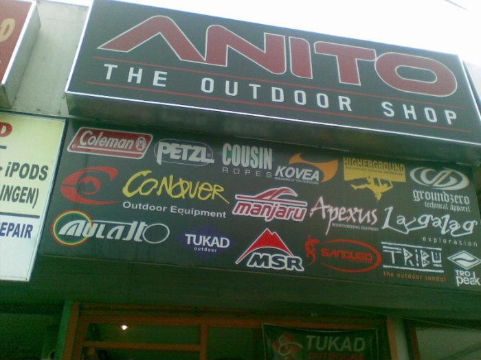 anito outdoor shop - General Santos