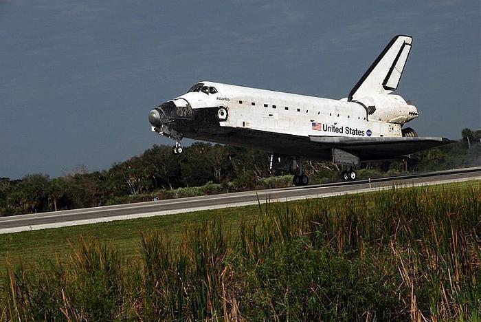 NASAシャトル着陸施設