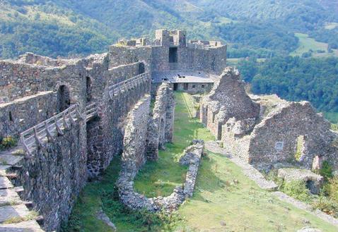 Medieval Fortress Maglić