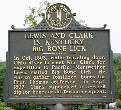 Consider, big bone lick state park kentucky also
