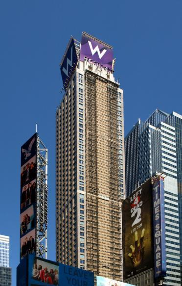 W Times Square Hotel