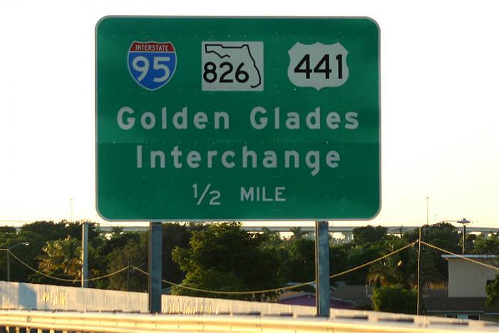 Golden Glades Interchange (I-95 Exit 12)