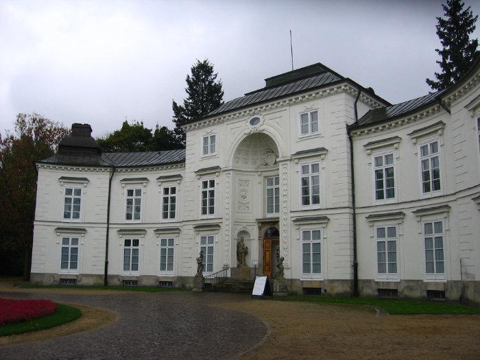 Pałac Myślewicki W łazienkach Warszawa