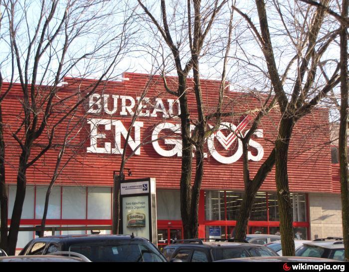 Bureau en gros staples greater montreal area