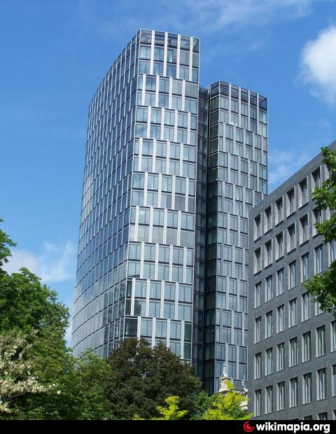 Westend Duo Tower Frankfurt Main