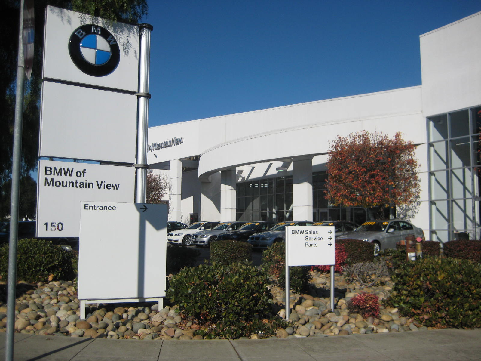 Bmw Mountain View Service >> Bmw Of Mountain View Mountain View California
