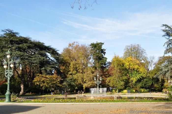 Jardin du Grand Rond - Toulouse (English)