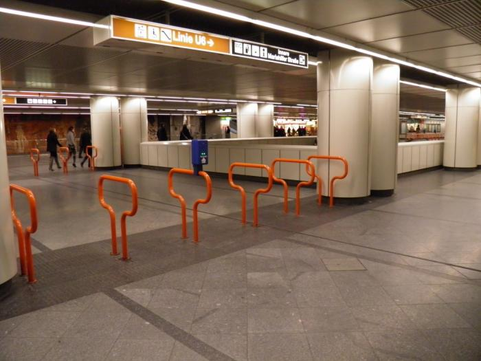 U3u6 Station Westbahnhof Wien