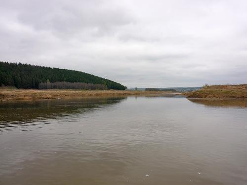Рыбалка на реке барда
