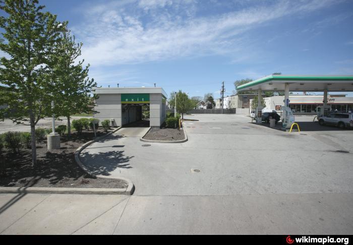 BP Gas Station & Car Wash - Cicero, Illinois