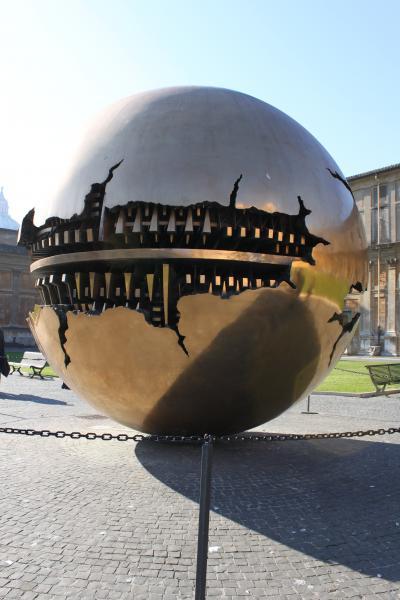 Globe At Vatican Museum