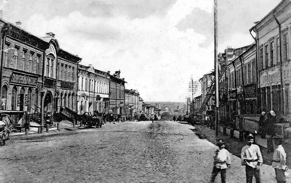 Открытка пенза московская улица