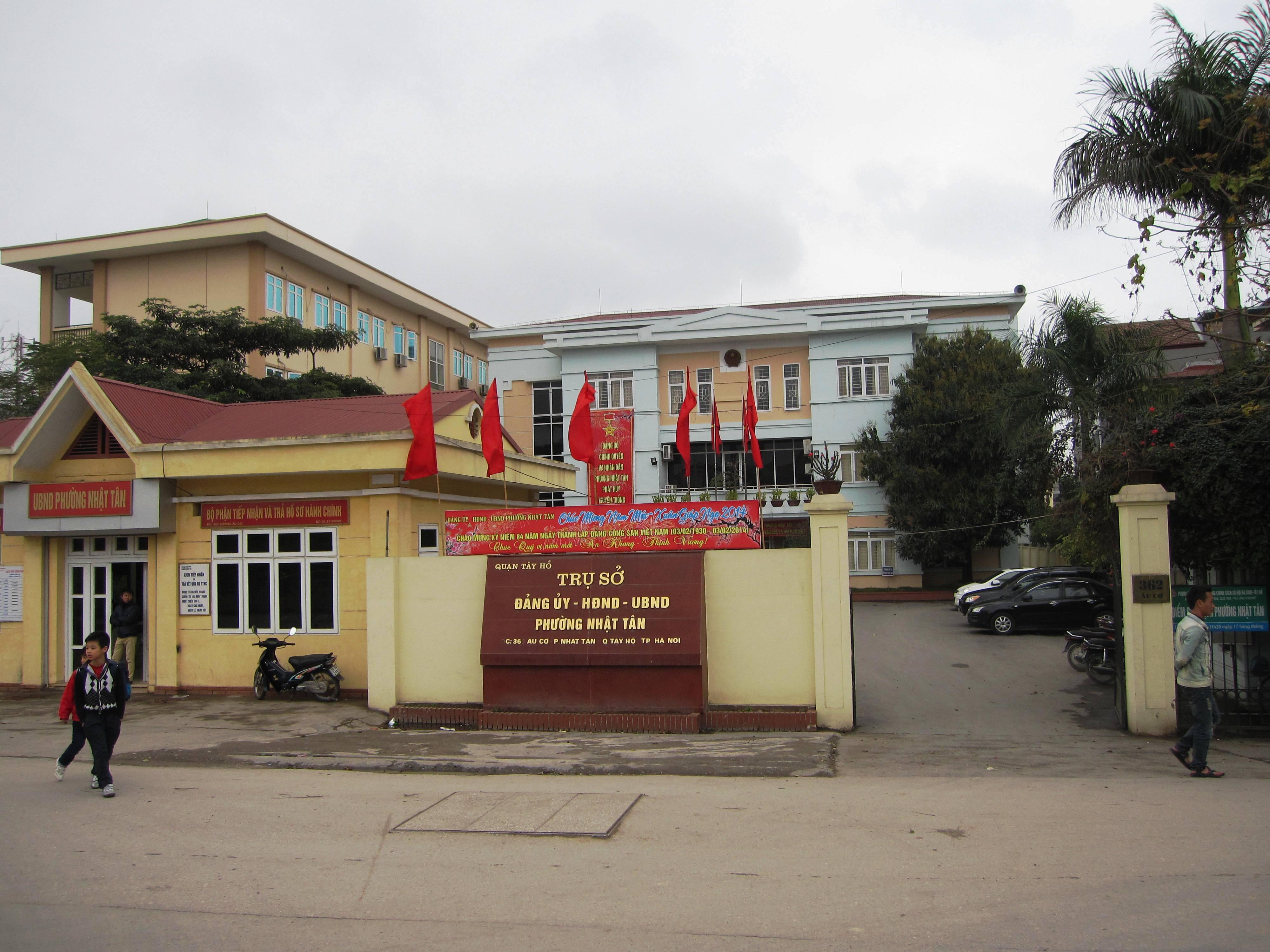 UBND phường Nhật Tân - Phường Nhật Tân
