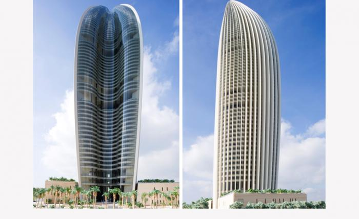 New Nbk Headquater Under Construction Kuwait City Bank